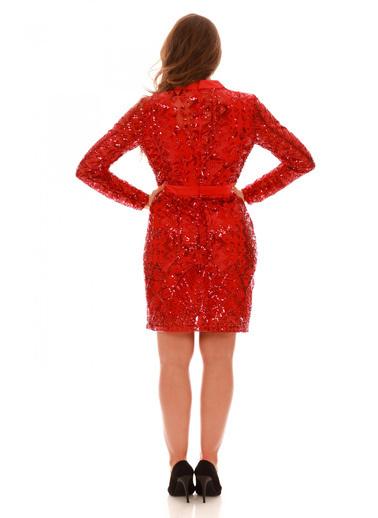6ixty8ight Elbise Kırmızı